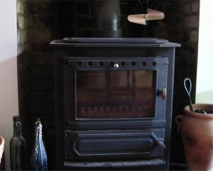 [Wood-burning stove]